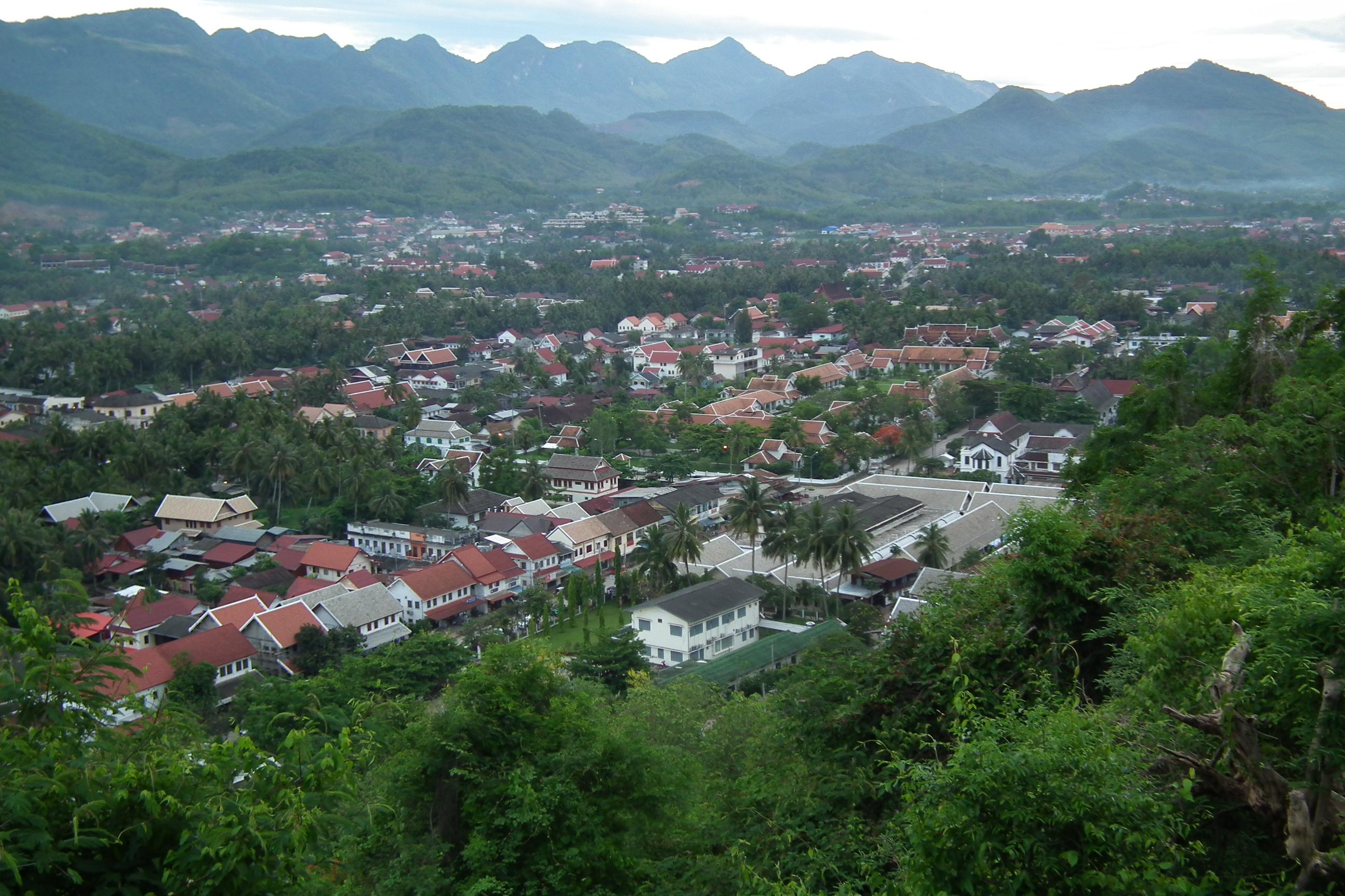Phou Si Luang Prabang Laos