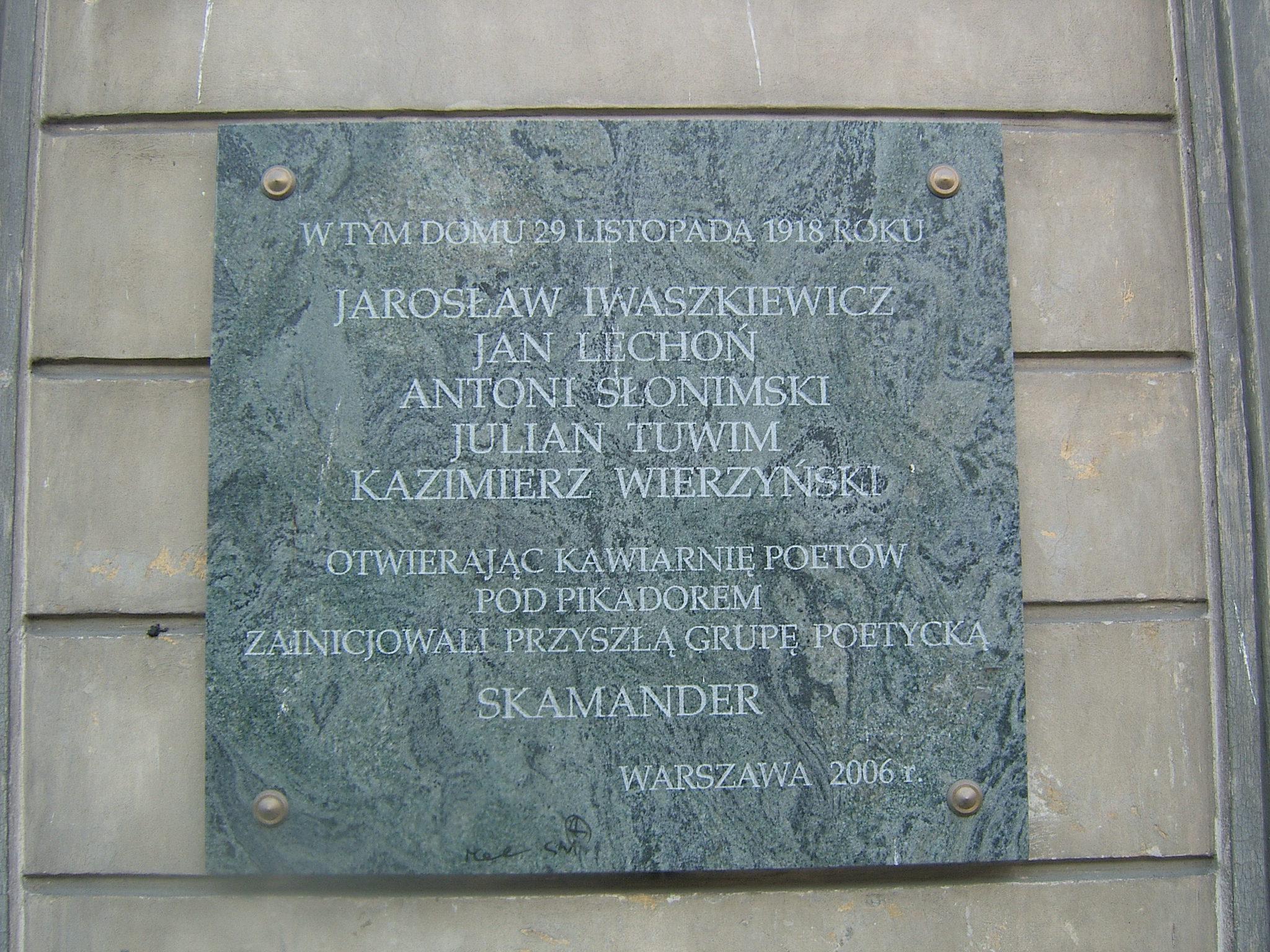 Skamander Grupa Literacka Wikipedia Wolna Encyklopedia