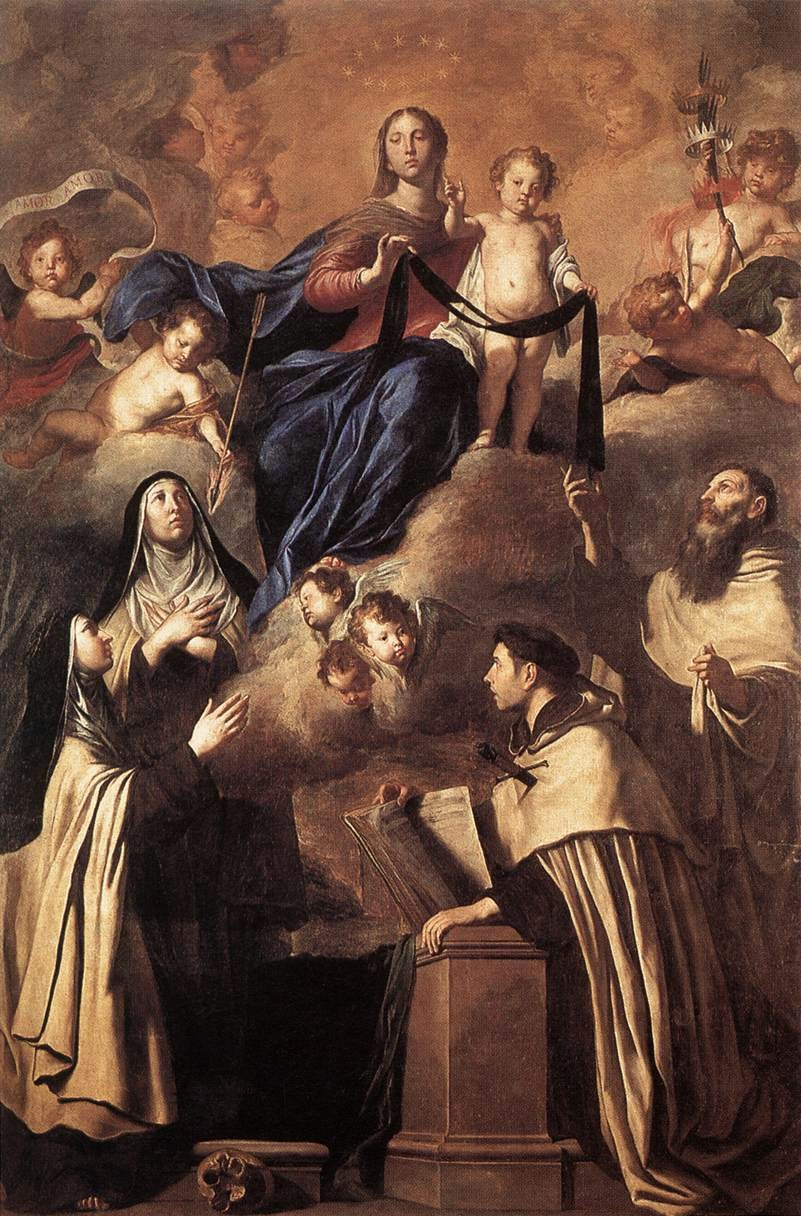 Pietro Novelli Our Lady of Carmel and Saints.JPG