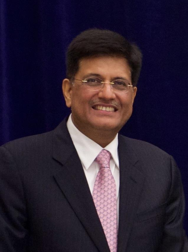 Astonishing Piyush Goyal Wikipedia Home Interior And Landscaping Oversignezvosmurscom