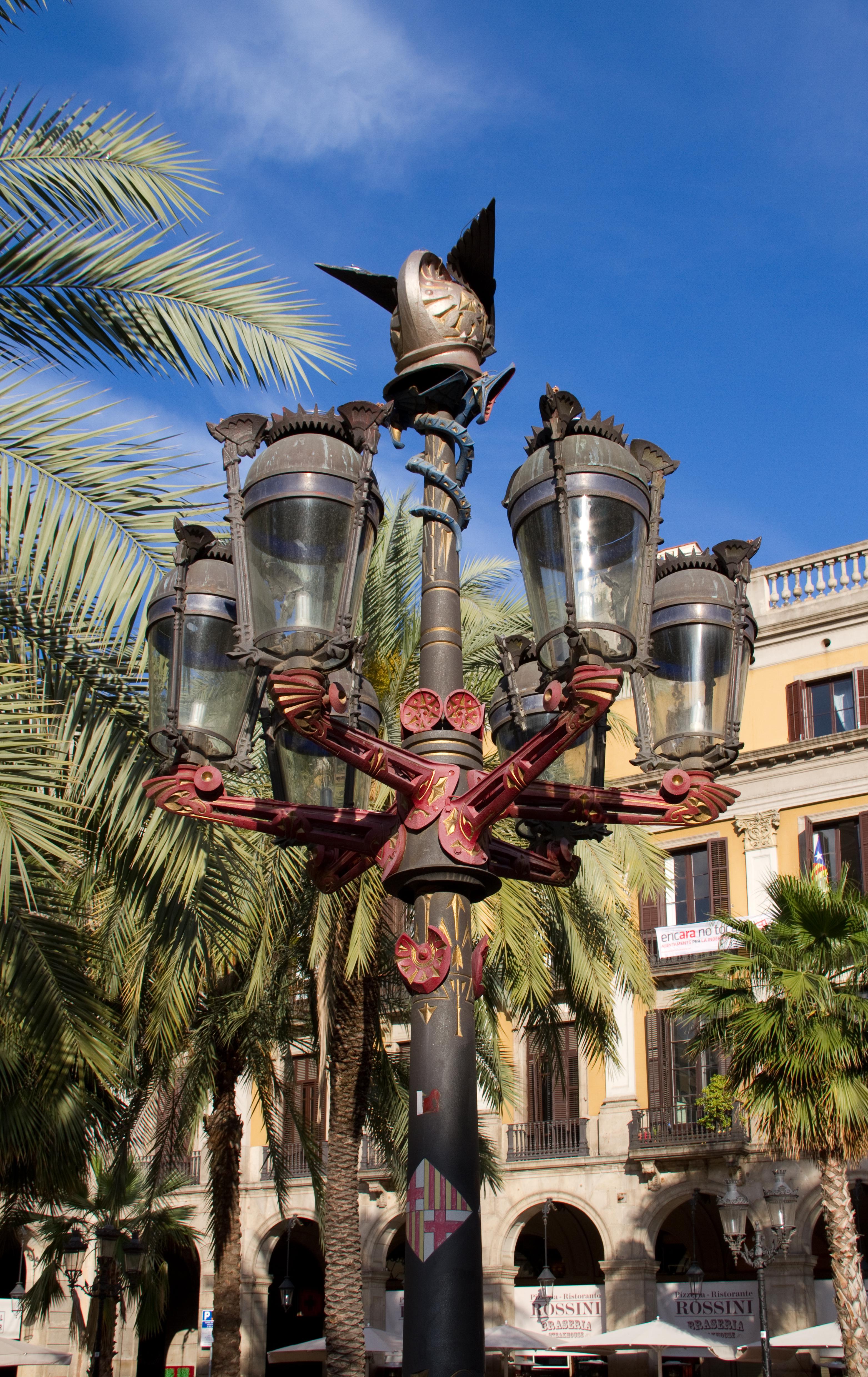 File pla a reial barcelona lamp 5835815593 jpg - Placa kennedy barcelona ...