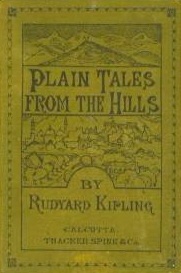 <i>Plain Tales from the Hills</i> book by Rudyard Kipling
