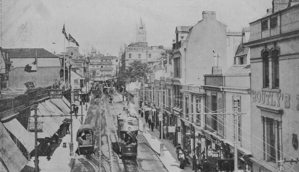 File Plymouth Union Street With Stonehouse Tram 5 Jpg