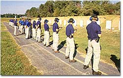 Agents in training on the FBI Academy firing range Potential Agents on the FBI Fireing Range.jpg