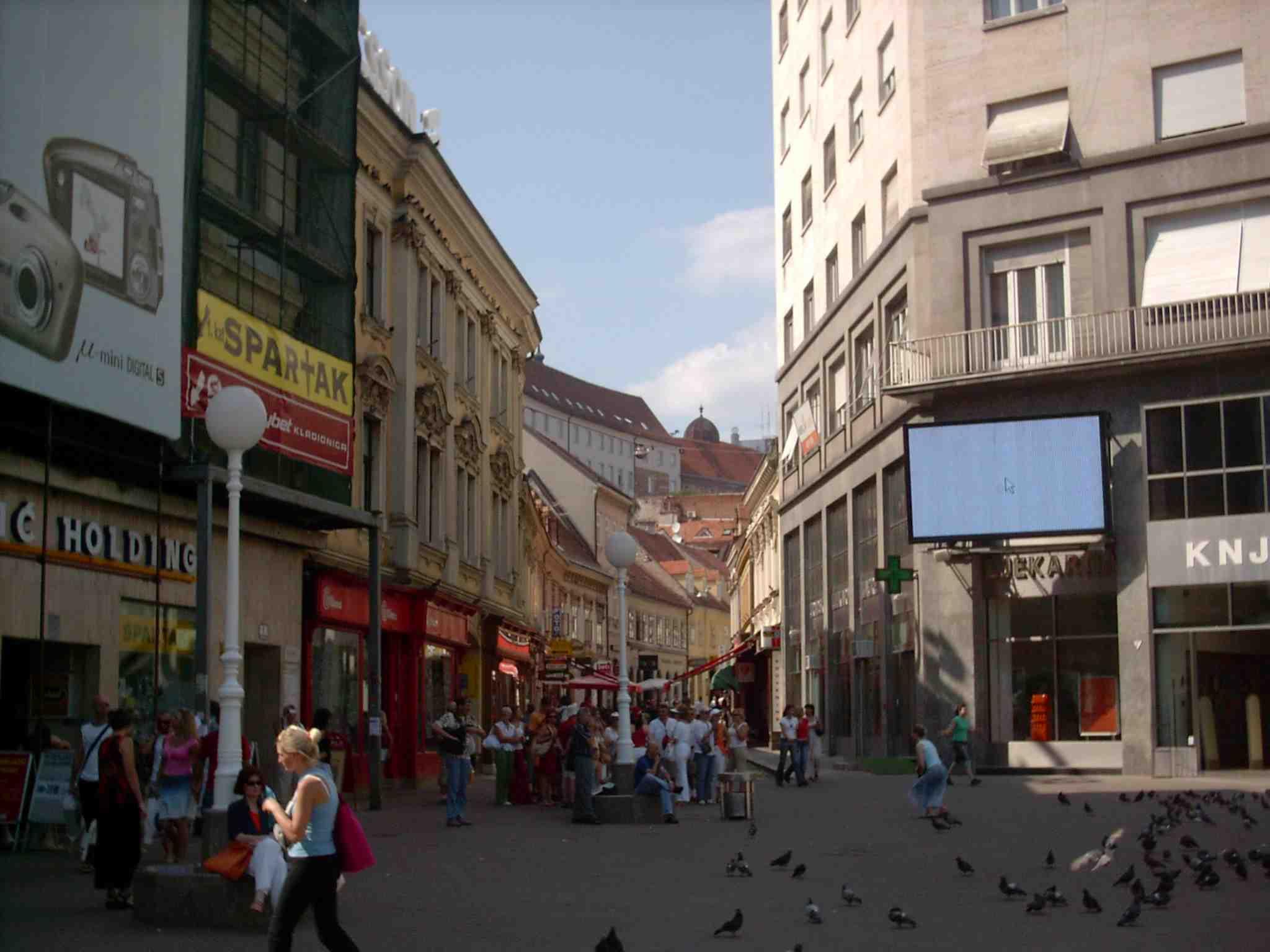 Zagreb Croatia  city pictures gallery : Radićeva street, Zagreb, Croatia Wikimedia Commons