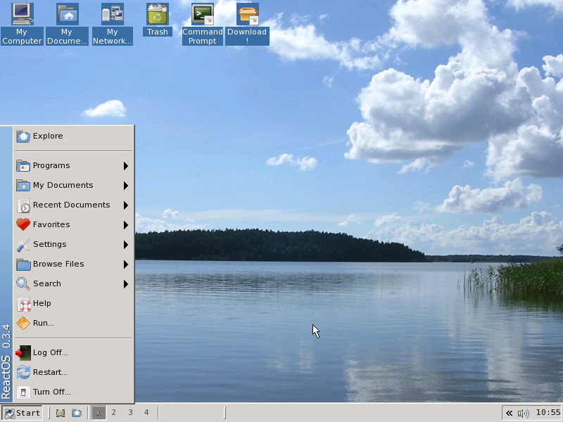 Файл:ReactOS screenshot.png