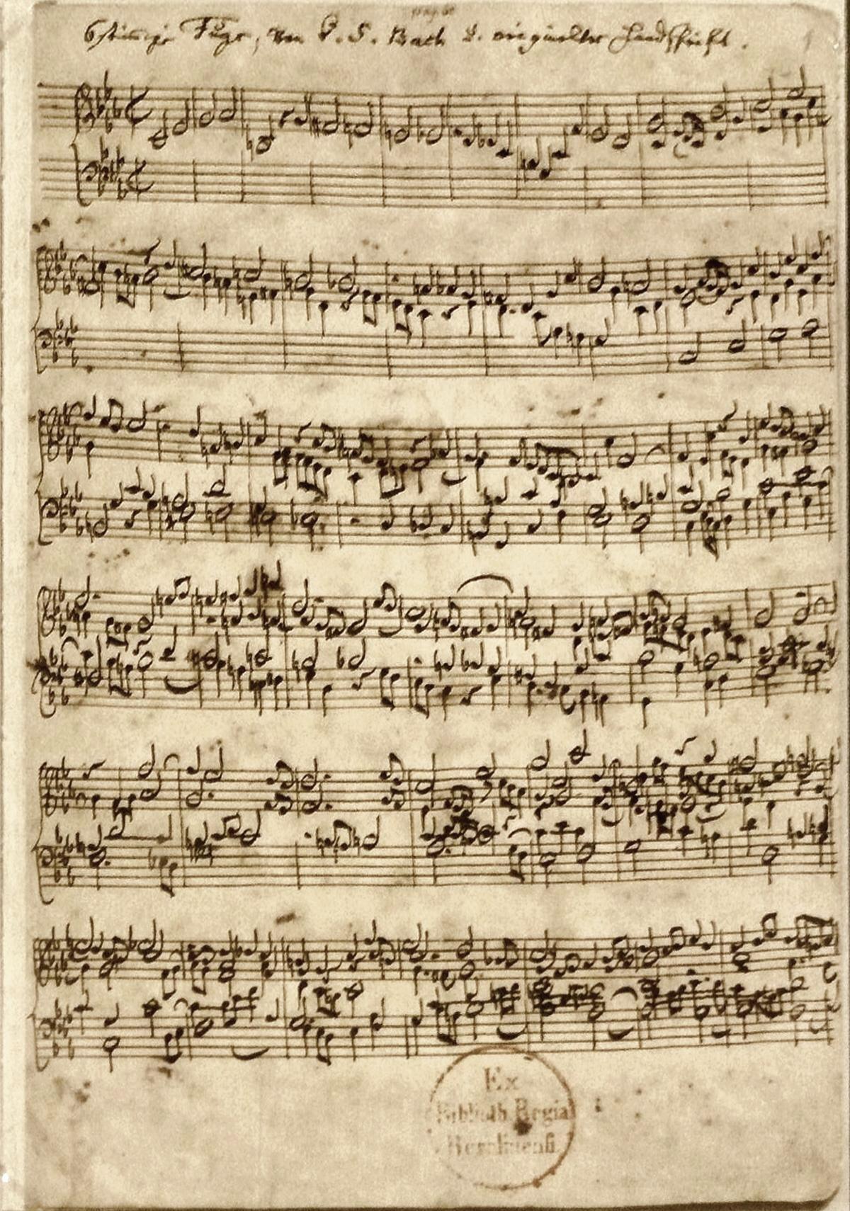 Ofrenda Musical Bwv 1079 Wikipedia La Enciclopedia Libre