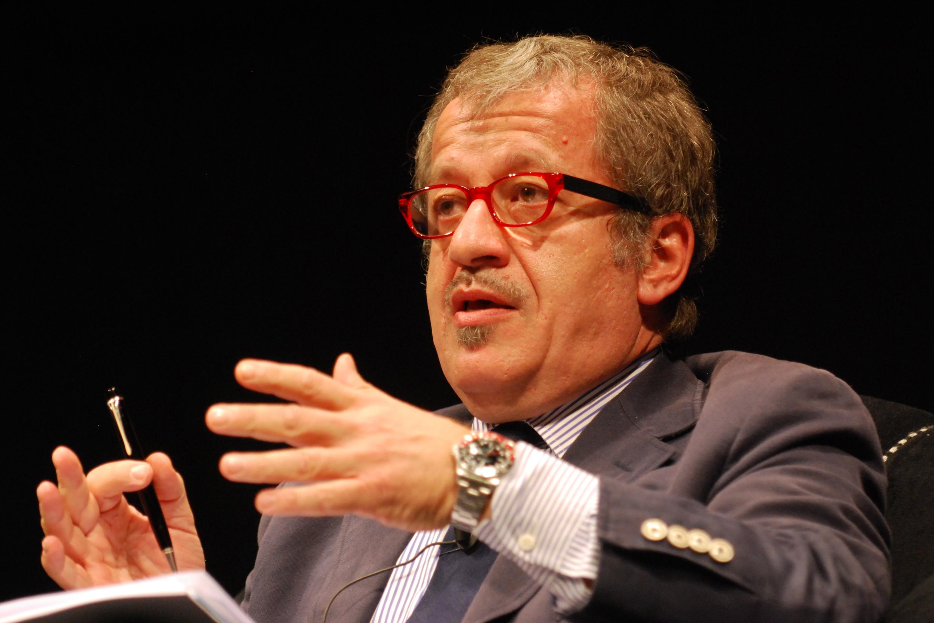 Il Presidente della Lombardia Roberto Maroni