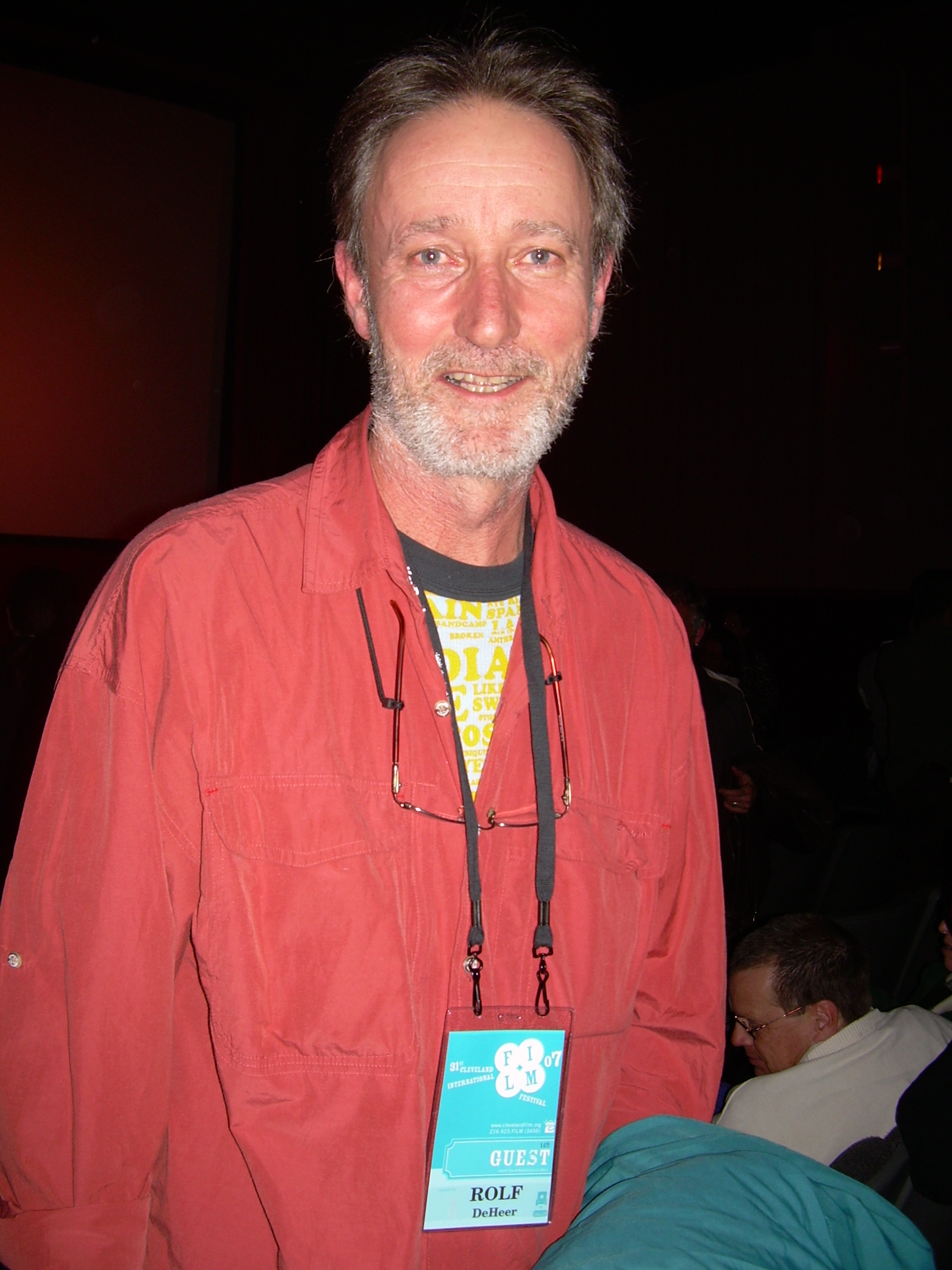 Rolf de Heer, 2006 (By Whit (originally posted to Flickr as Rolf de Heer), CC BY-SA 2.0, via Wikimedia Commons)