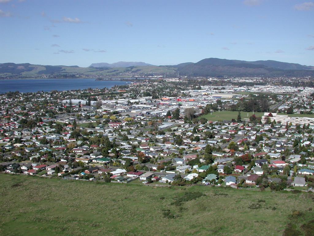Aerial New Zealand North Island