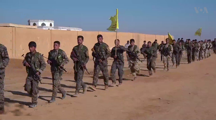 SDF infantry in northern Raqqa countryside (December 2016)