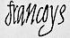 Francis II: s underskrift