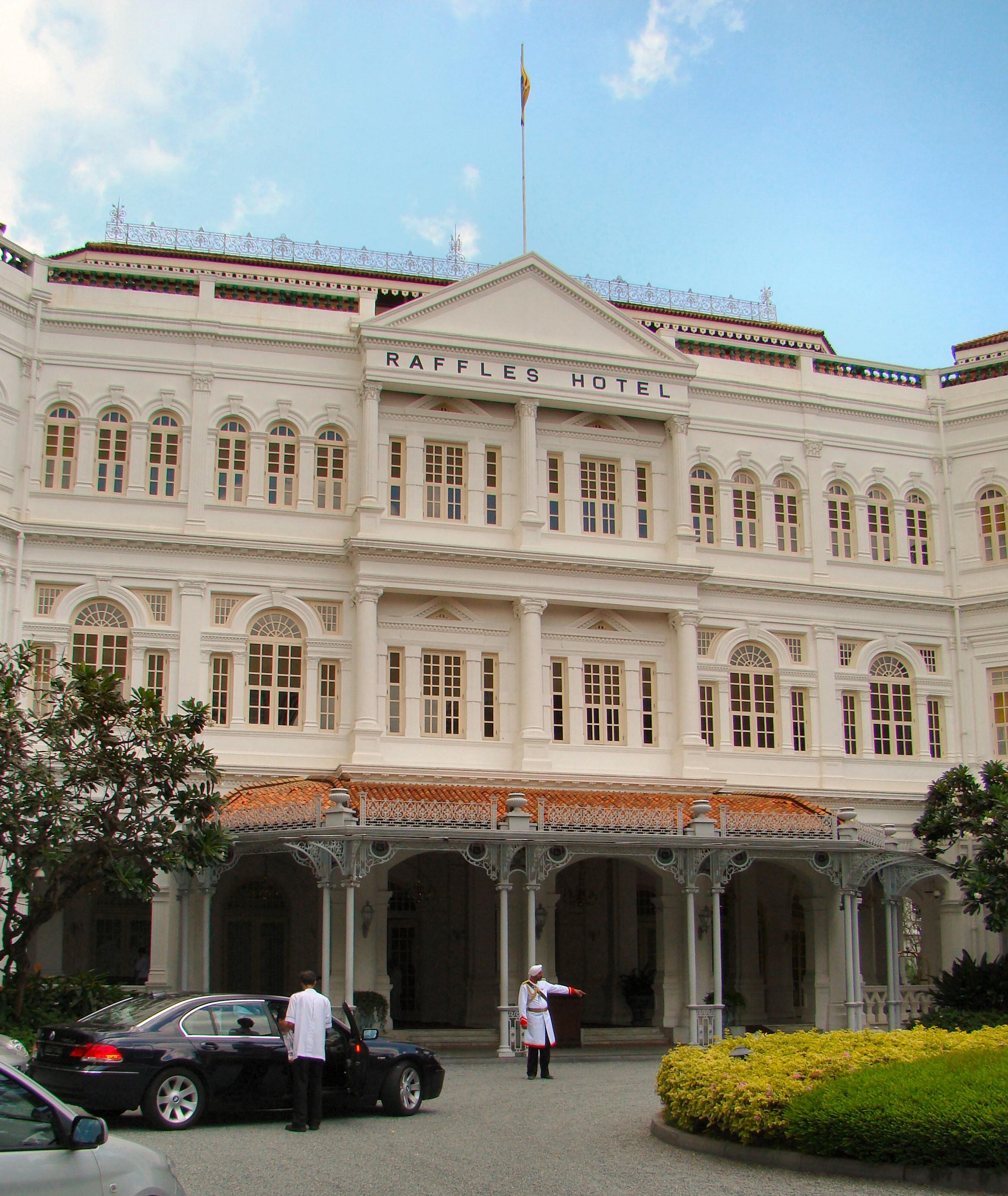 Luxus ohne Grenzen – zu Gast im Raffles-Hotel in Singapur