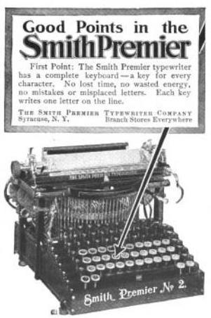 English: Smith-Premier Typewriter Company of S...
