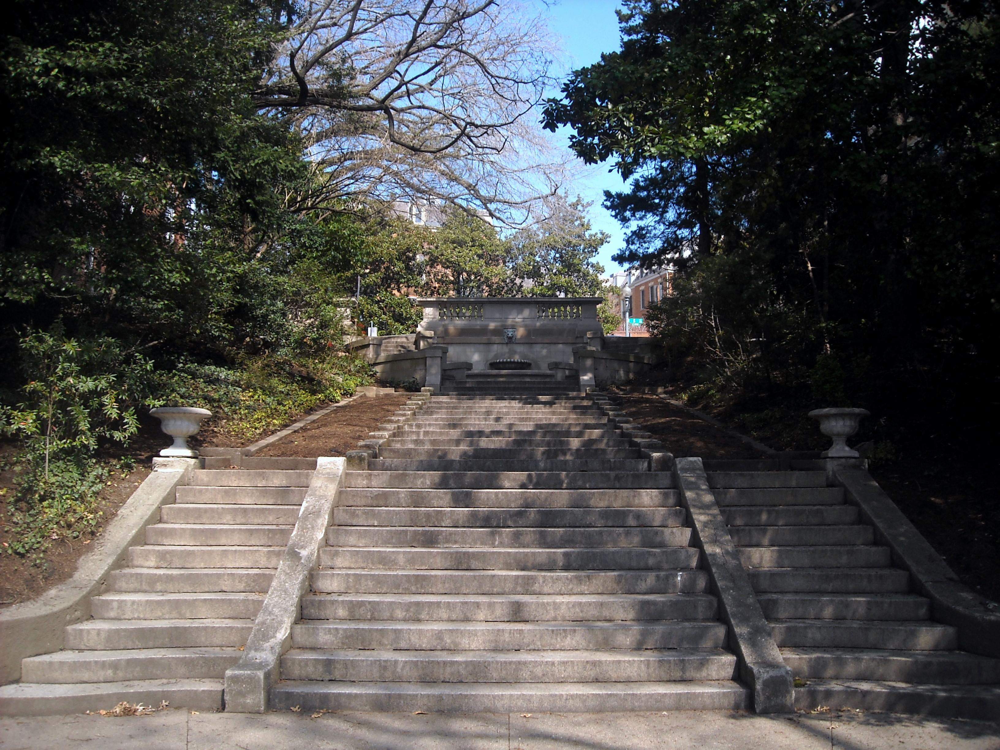 Image result for spanish steps washington dc