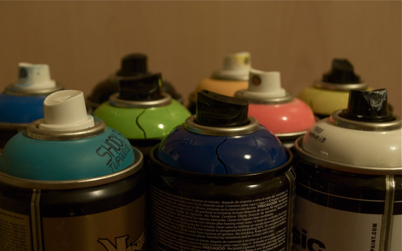 recycle spray cans, changing the world