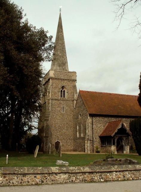 St. Margaret's church, Aldham, Essex