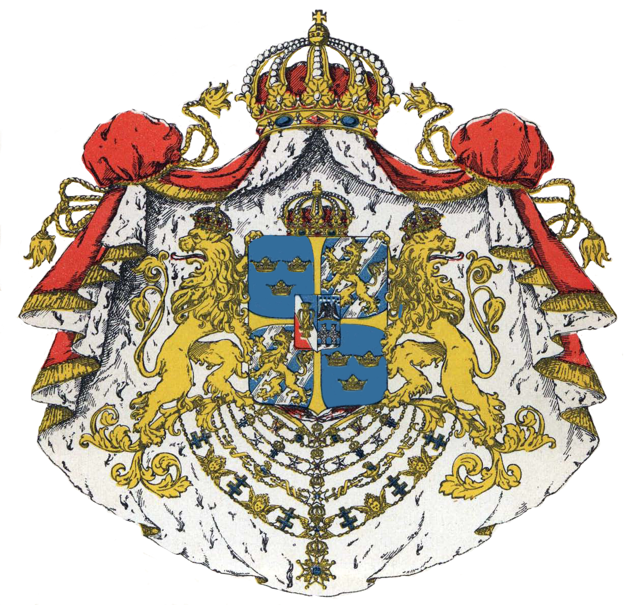 [Sweden Greater Coat of Arms]