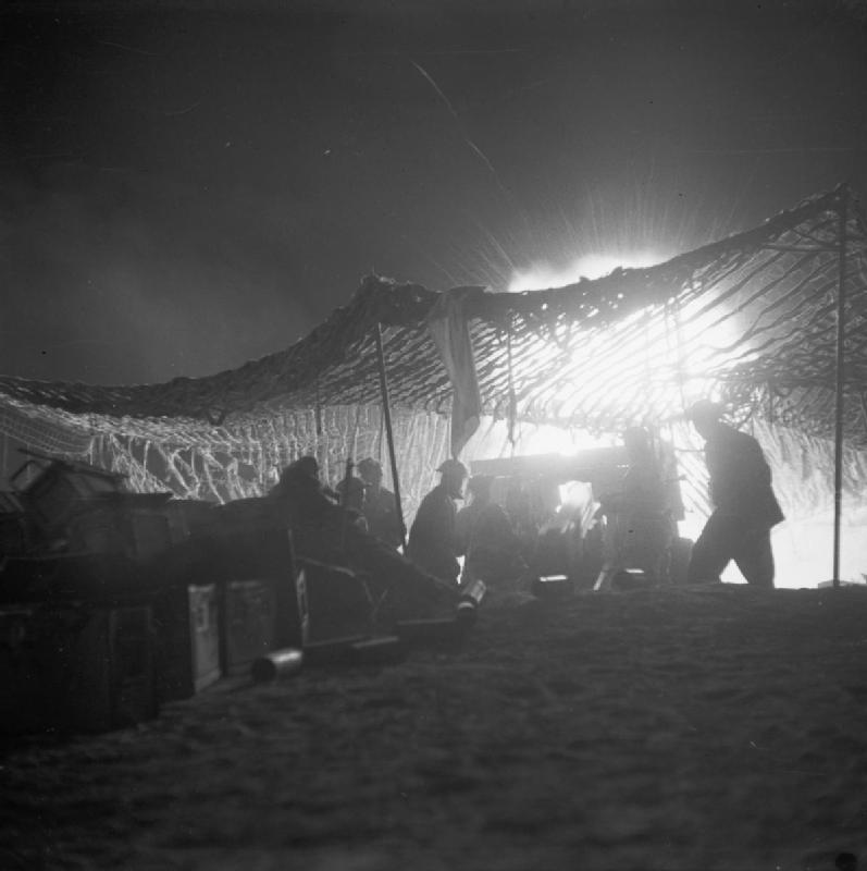 معركة خط مارث ........Battle of the Mareth Line The_British_Army_in_Tunisia_1943_NA1397
