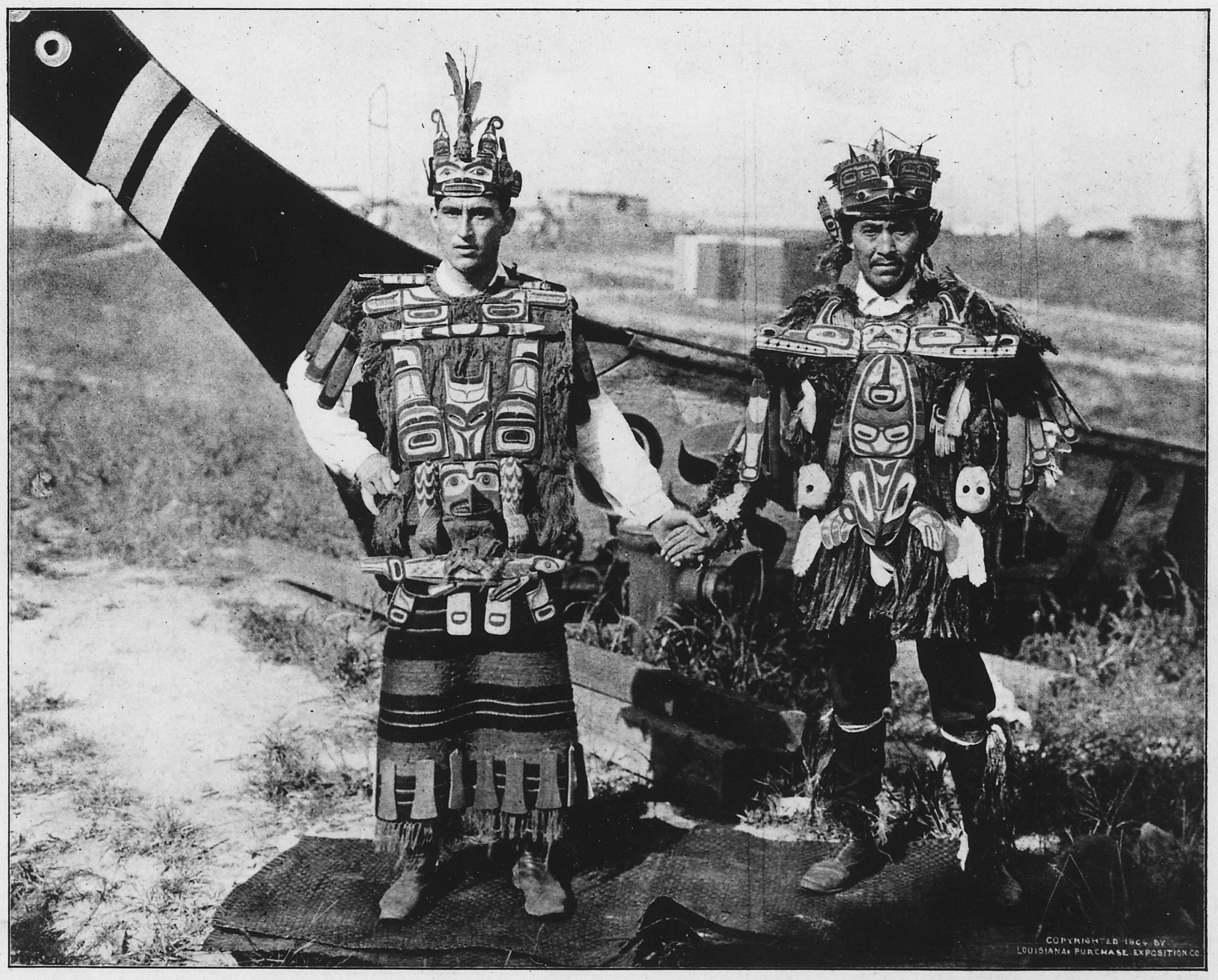 File:The Kwakiutl Indians of Vancouver Island. (postcard) - NARA ...
