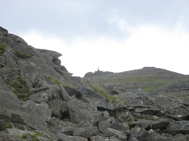 The Summit of Moel Siabod - geograph.org.uk - 218518