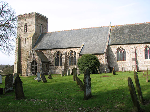The church of All Saints in Shouldham - geograph.org.uk - 1738498
