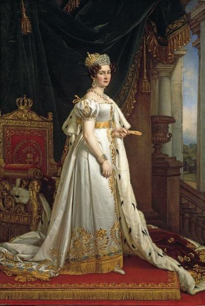 Therese of Saxe-Hildburghausen, by Joseph Stieler.jpg