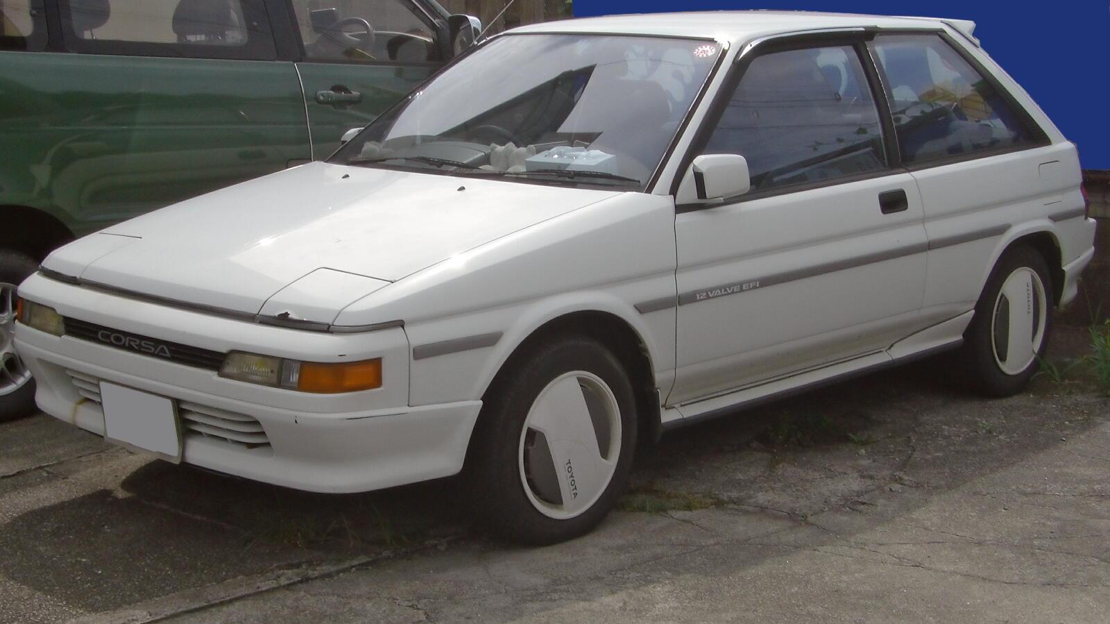File Toyota Corsa 1986 Jpg Wikimedia Commons