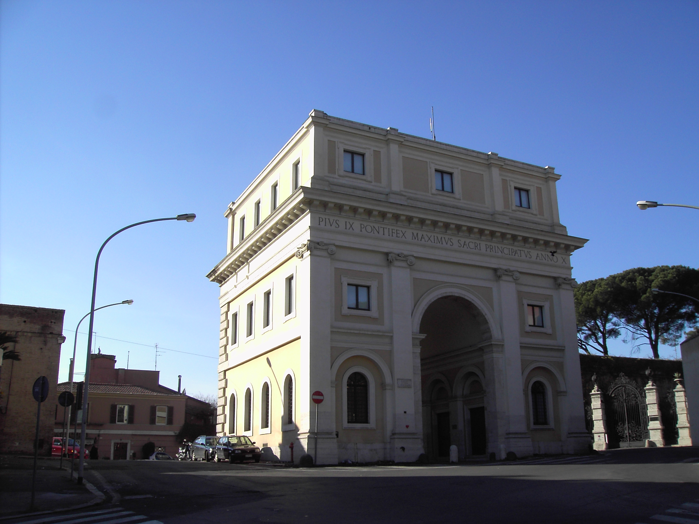 file trastevere porta san pancrazio 1568 jpg wikipedia