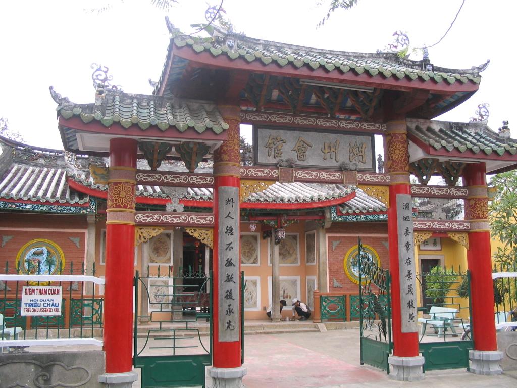 Tor zur Trieu Chau Versammlungshalle