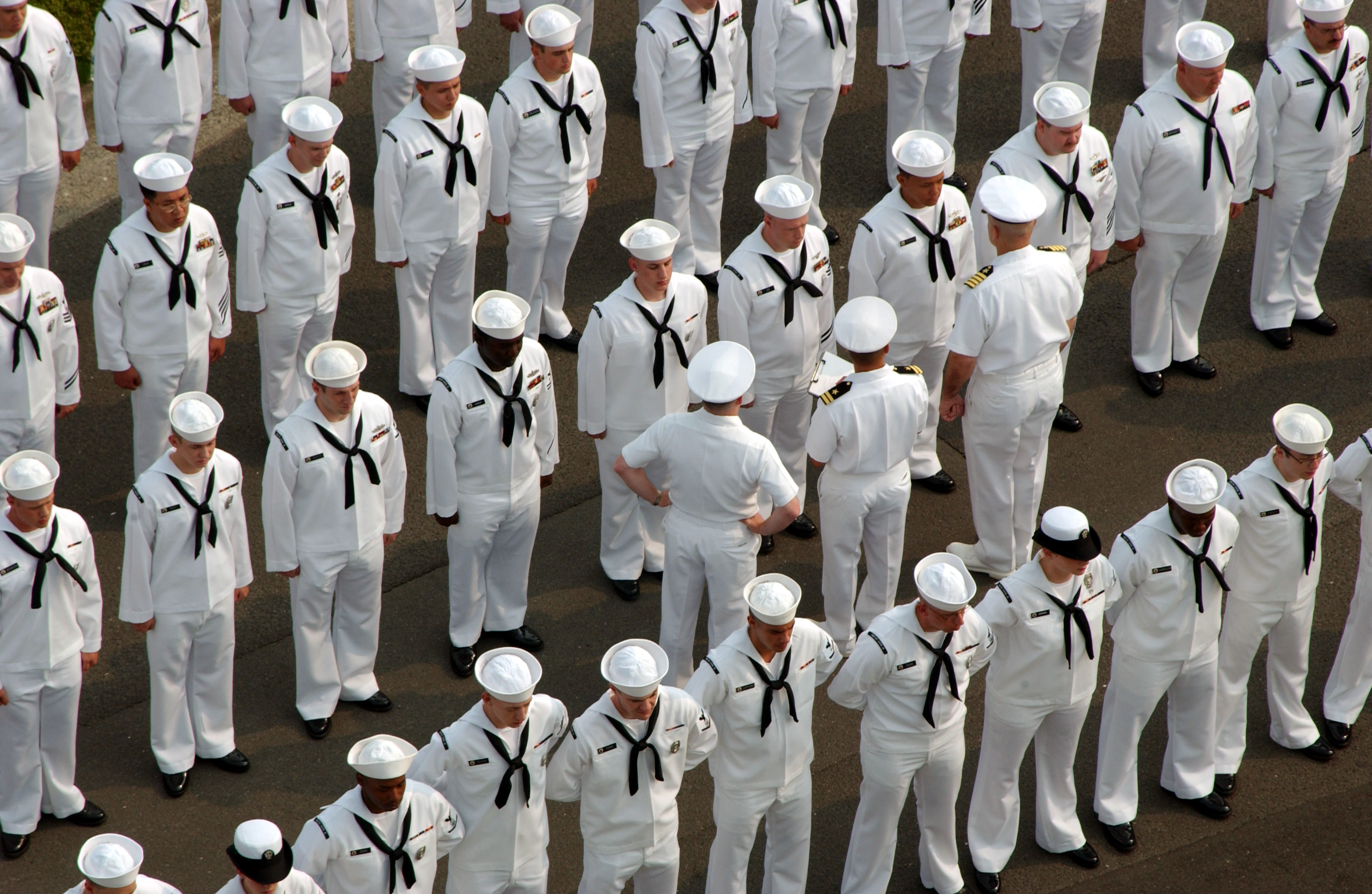 Navy enlisted uniforms 2018