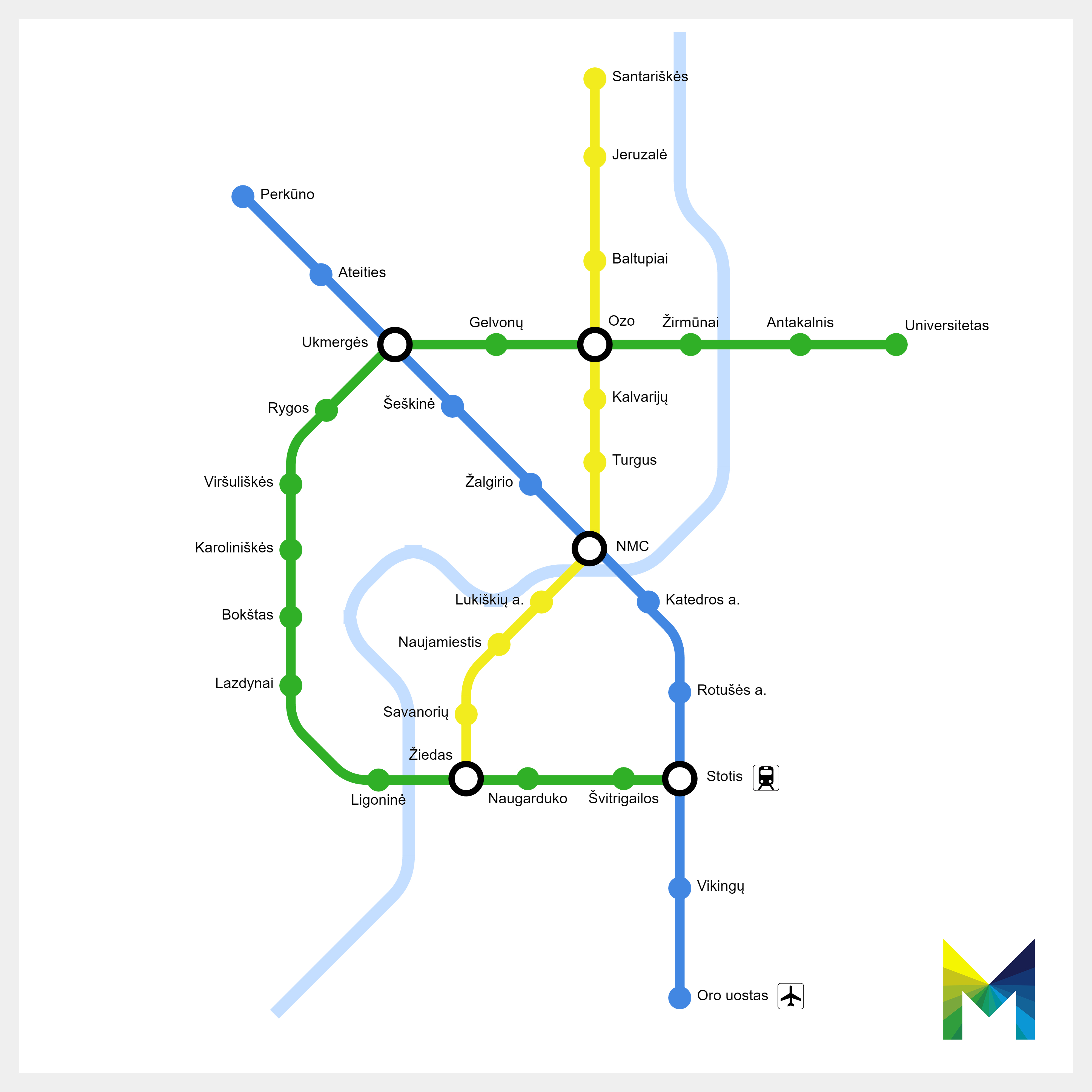 Riga Subway Map.Vilnius Metro Wikipedia