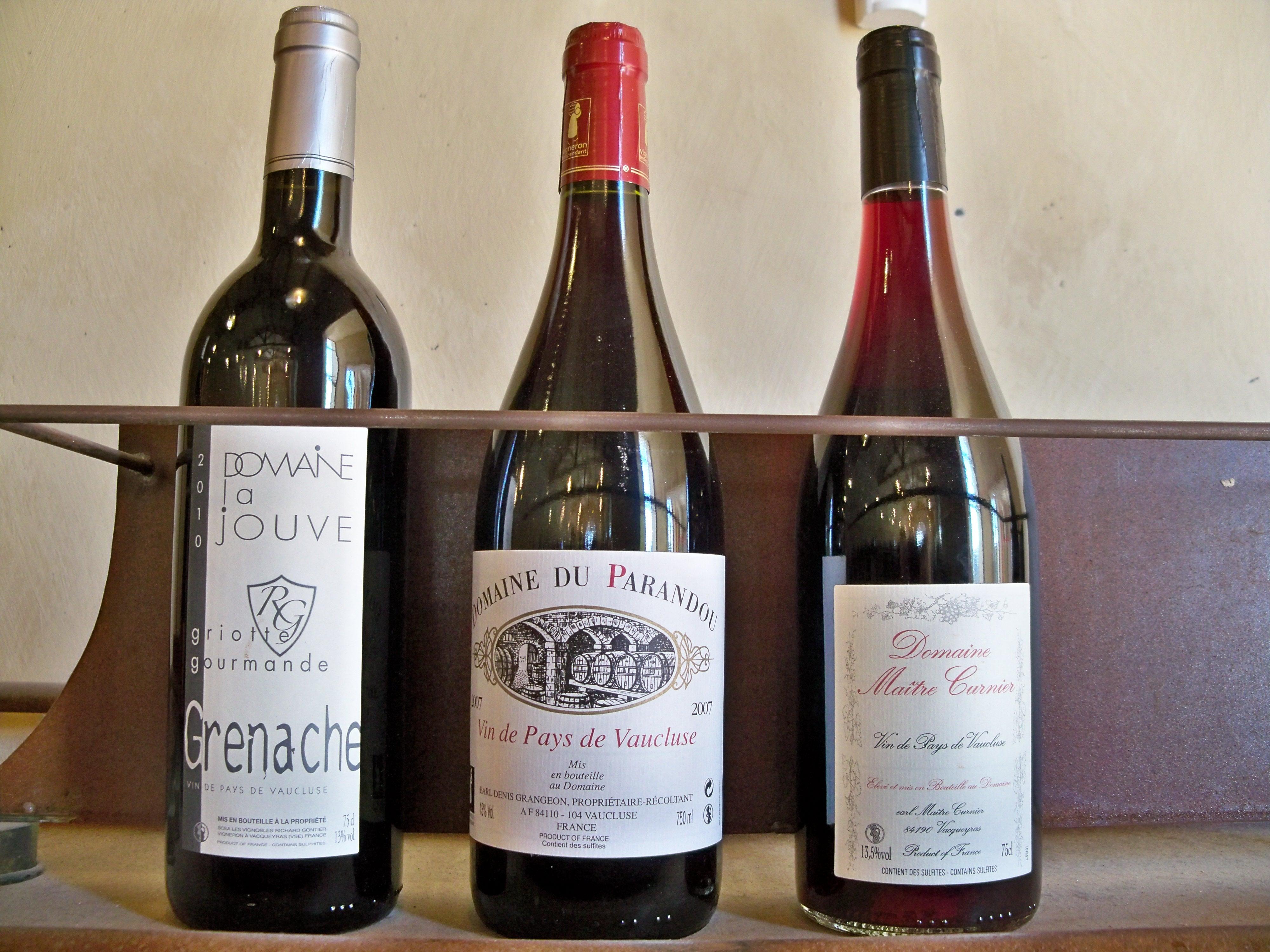 vaucluse vin