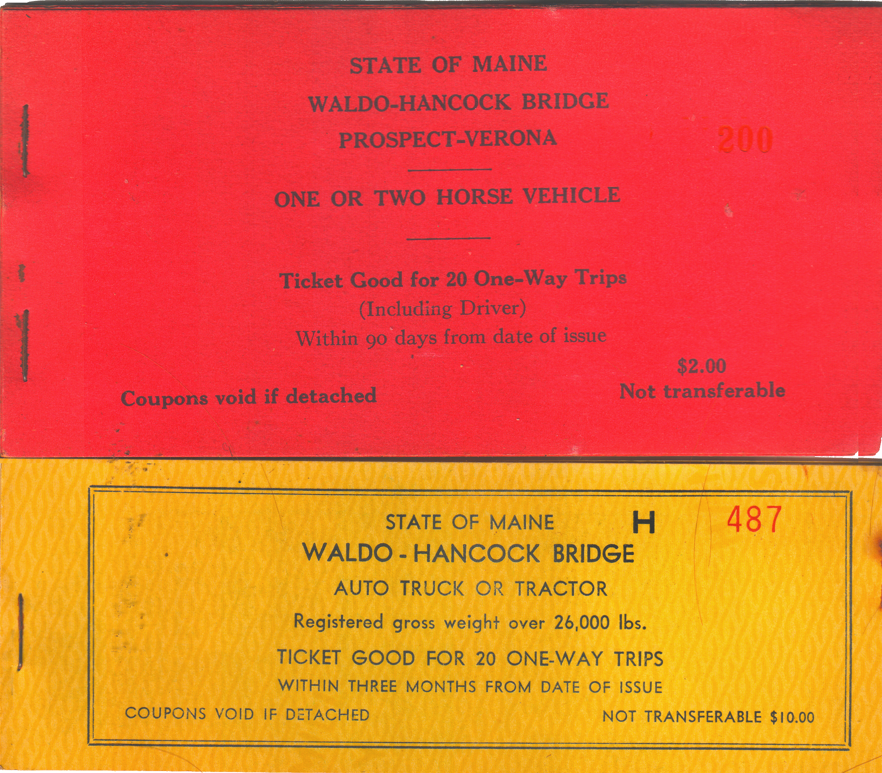 File:Waldo Hancock Bridge Toll Ticket Books 1935 jpg