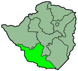 Zimbabwe Provinces Matabele South 250px.png