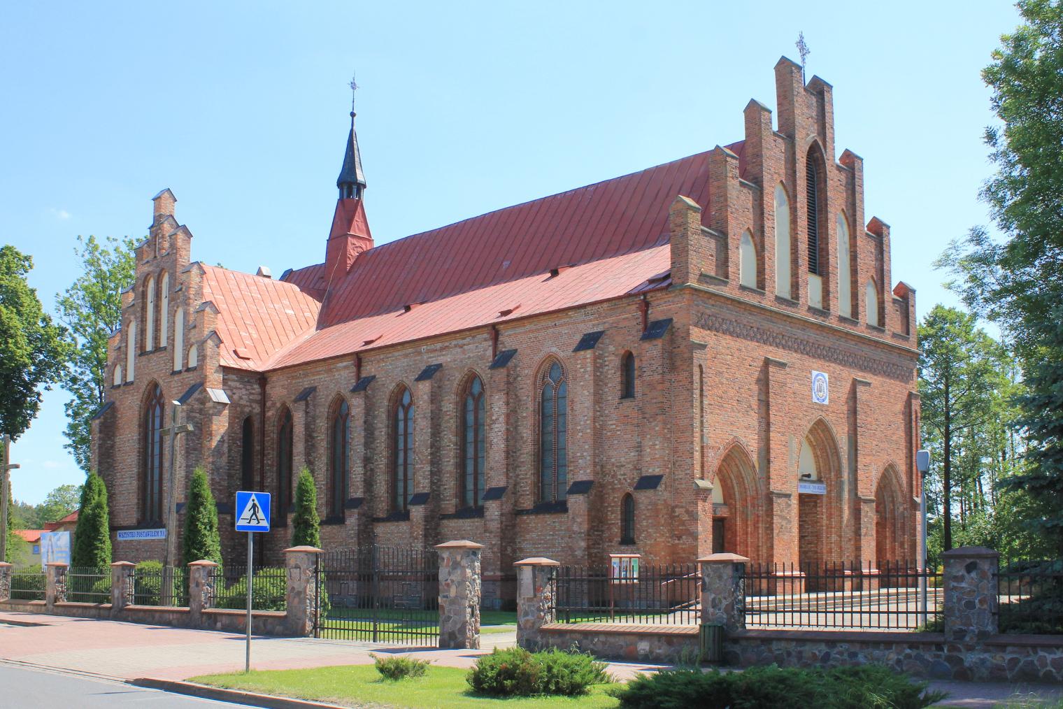 Parafia Przemienienia Pańskiego w Zuzeli – Wikipedia, wolna encyklopedia