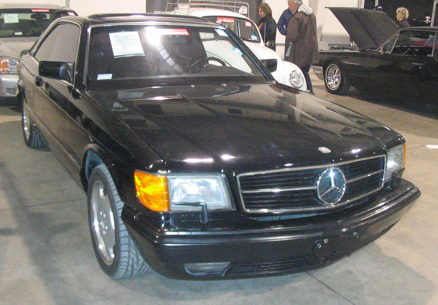 File:'87 Mercedes-Benz 560SEC (Toronto Spring '12 Classic Car