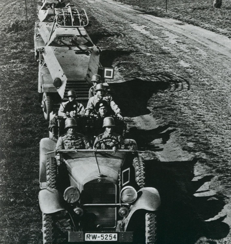 six-wheeled SdKfz 231