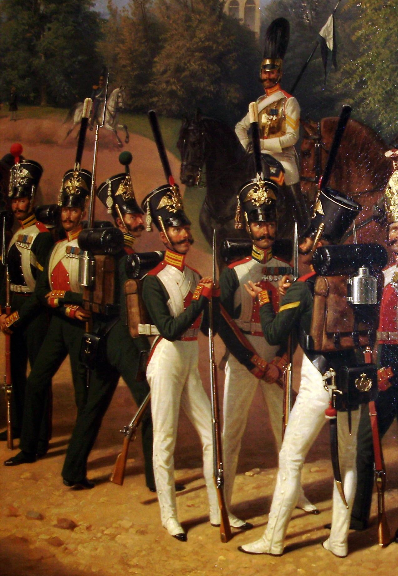 картинки императорской гвардии интересные