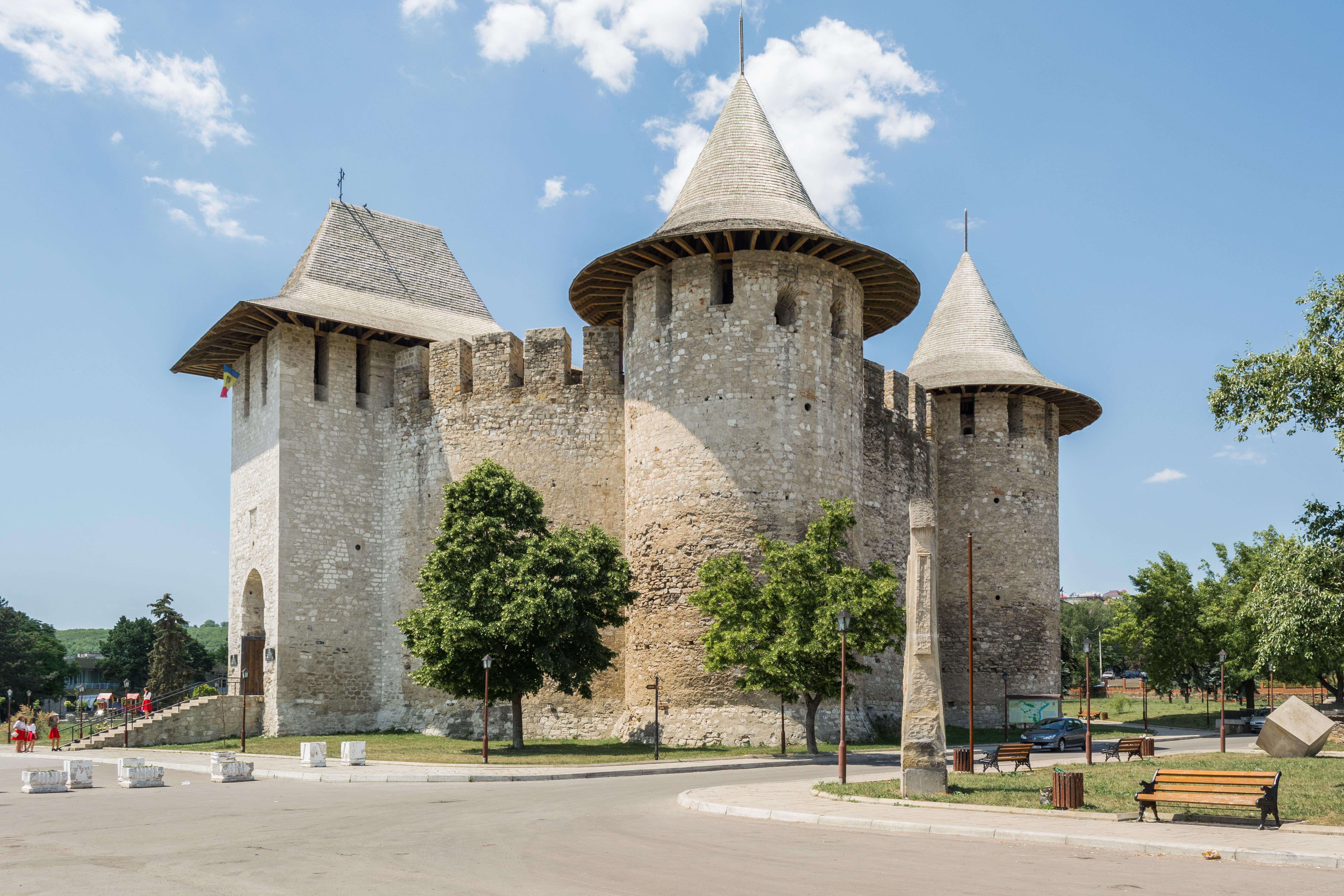 Couvrir Une Cour Intérieure forteresse de soroca — wikipédia