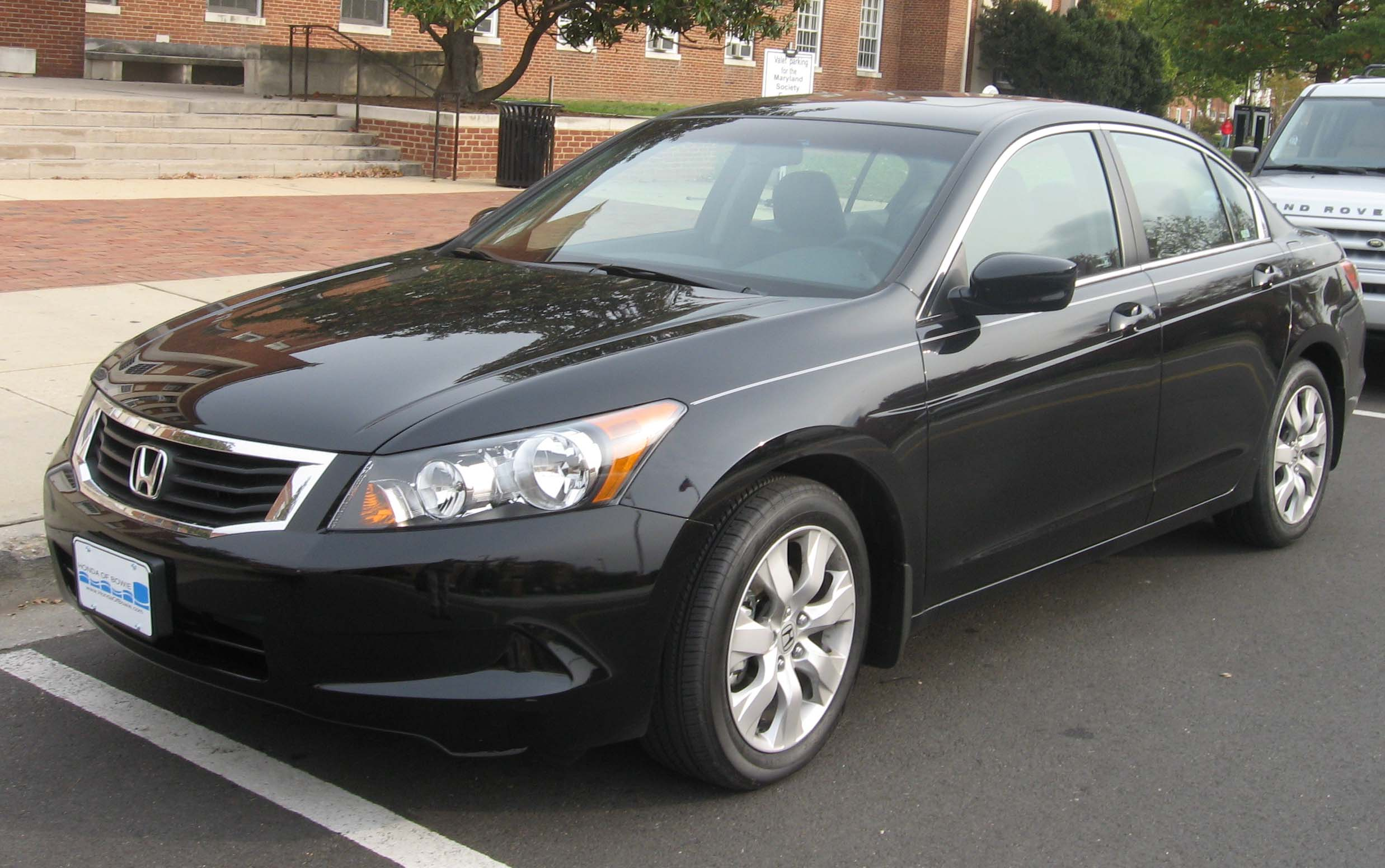 File 08 Honda Accord Sedan Jpg Wikimedia Commons