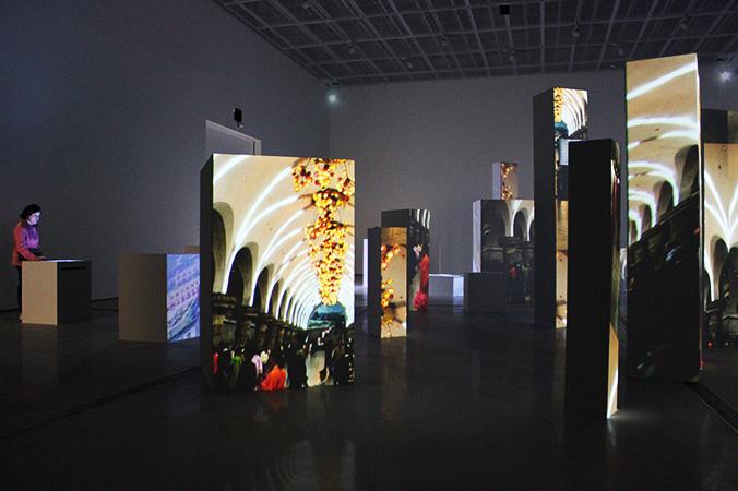 new media art gallery