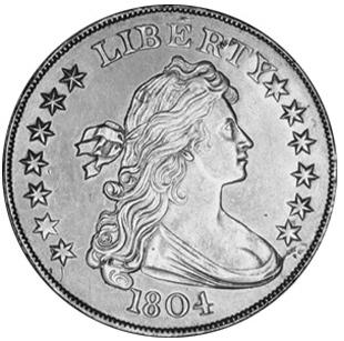 Картинки по запросу серебряный доллар 1804