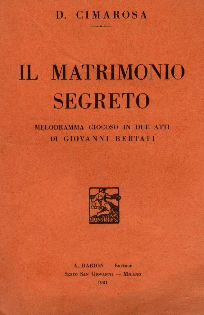 Matrimonio In Segreto : File matrimonio segreto g wikipedia