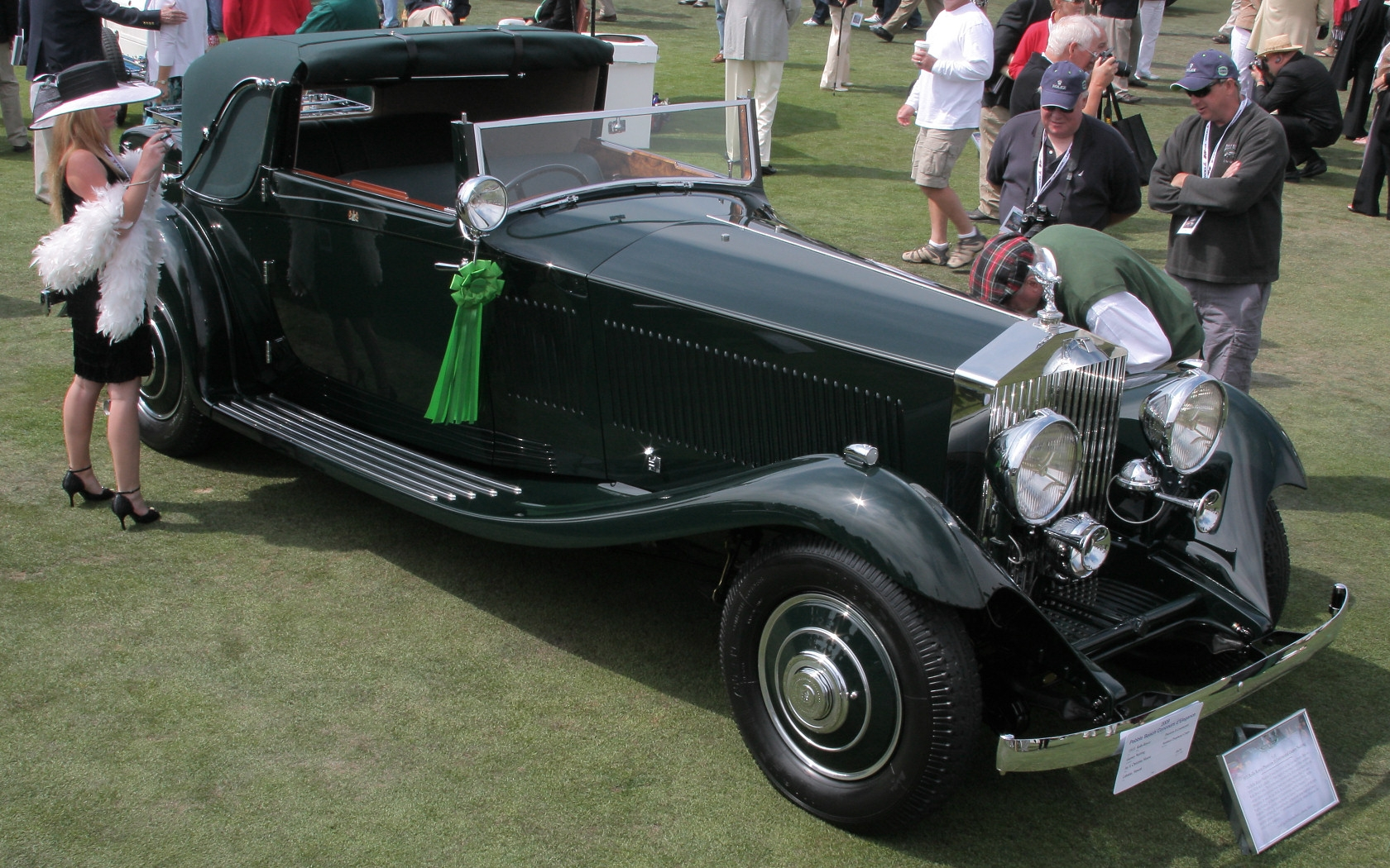 File 1933 Rolls Royce Phantom Ii Continental Gurney Nutting Sedanca Dhc Jpg Wikimedia Commons