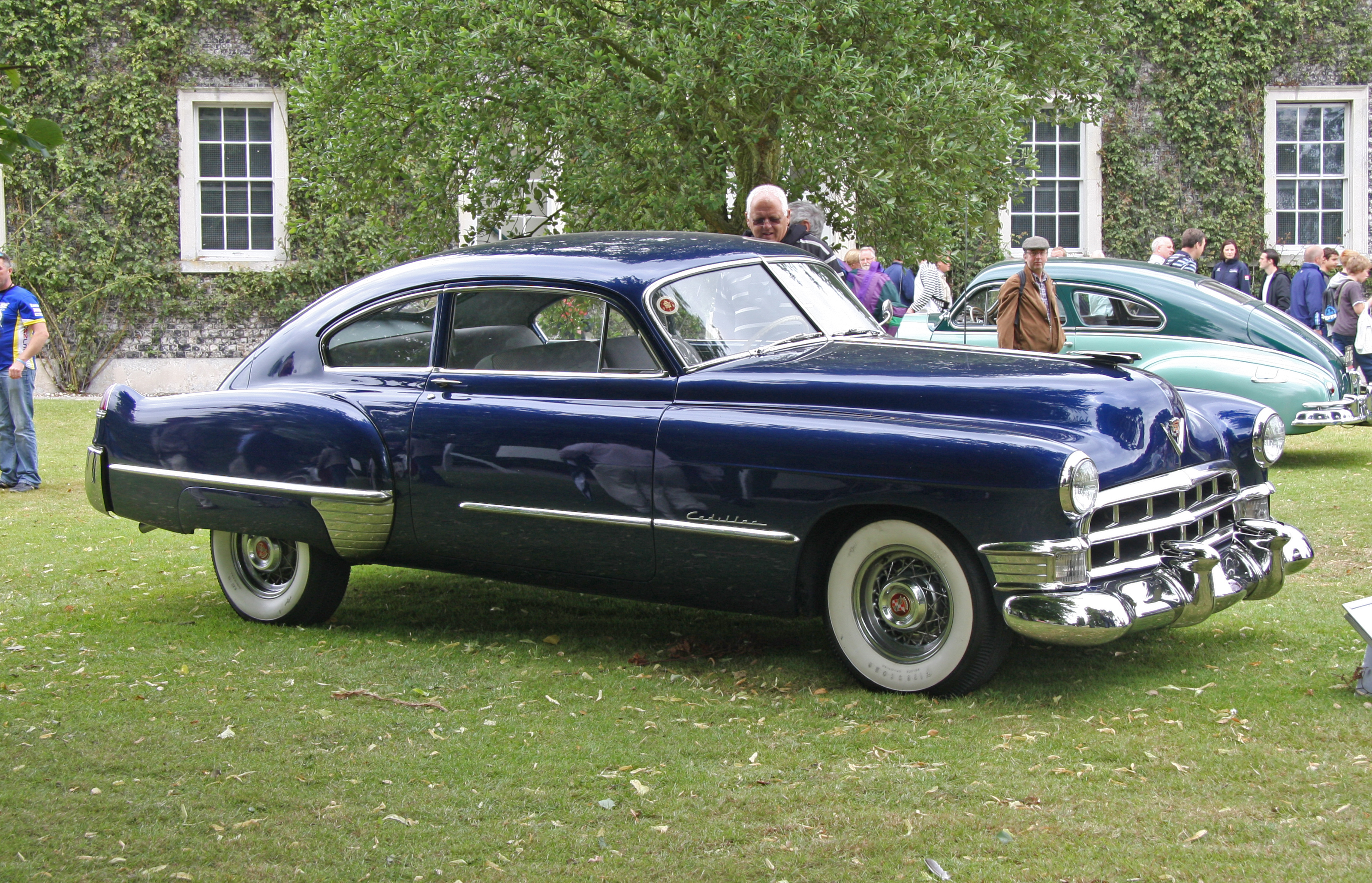 My first bloggy experience 1950 cadillac series 61 2 door for 1949 cadillac fastback series 61 2 door