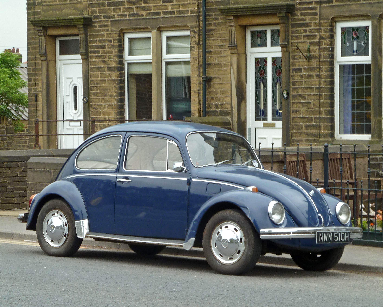 File 1970 Volkswagen Beetle Seen In Queensbury Bradford