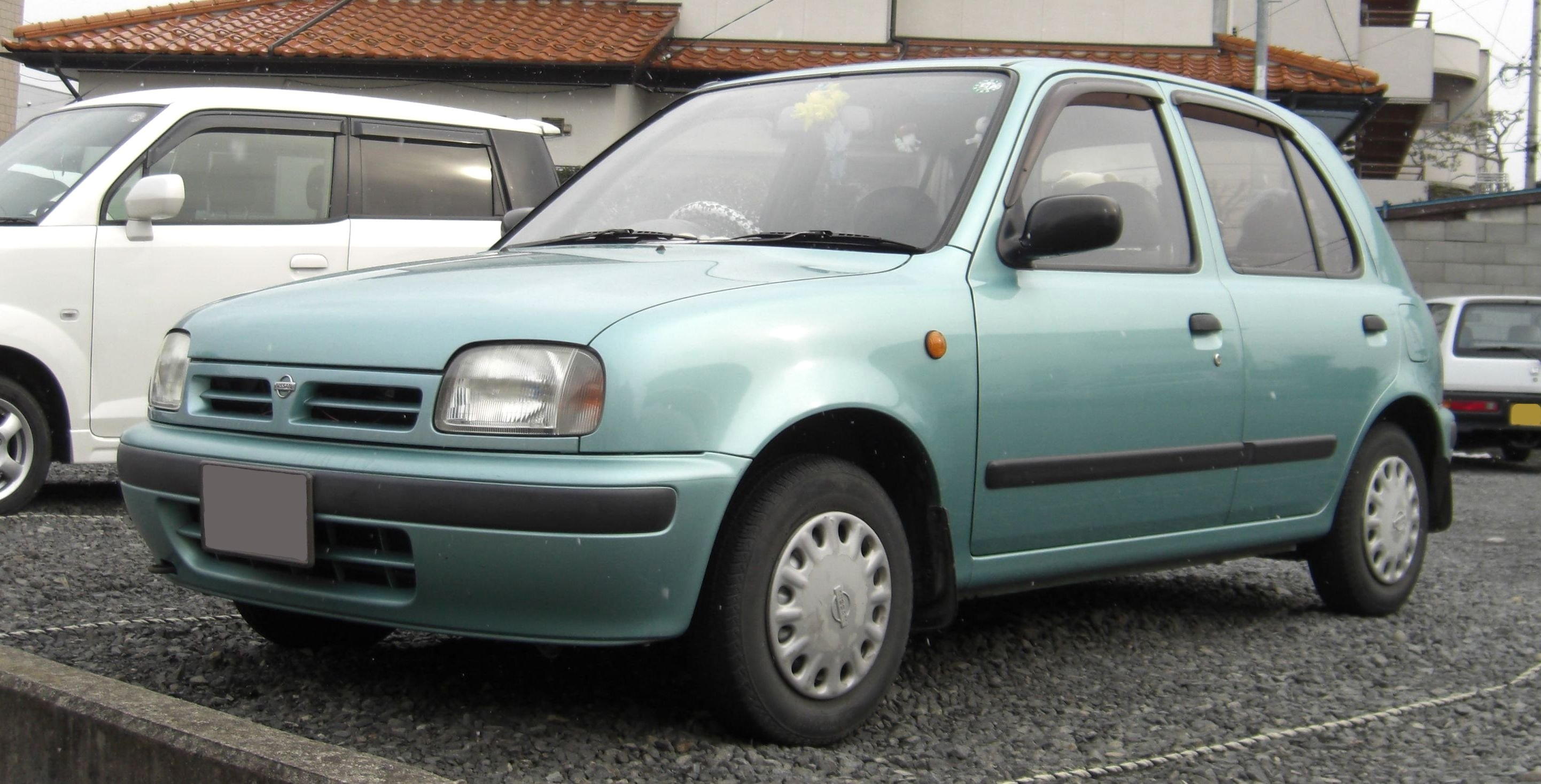 Micra K Paint Code Location