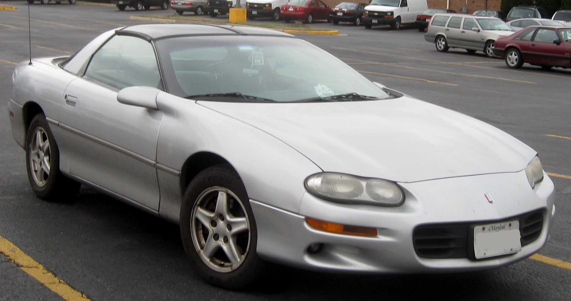 File 1998 2002 Chevrolet Camaro Coupe Jpg Wikimedia Commons