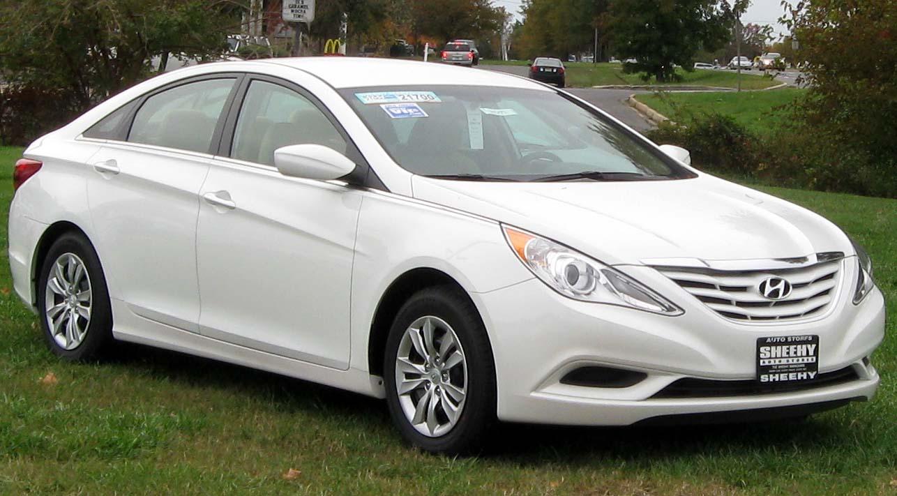 File 2012 Hyundai Sonata Gls 10 28 2011 Jpg Wikipedia